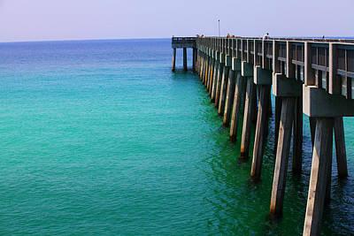 Panama City Beach Pier Poster