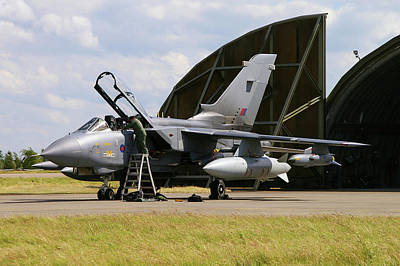 Poster featuring the photograph Panavia Tornado Gr4 by Tim Beach