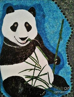 Panda Poster by Jasna Gopic