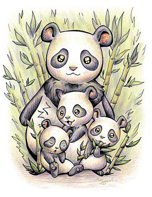 Endangered Animal Giant Panda Poster