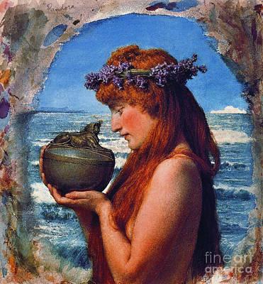 Pandora 1881 Poster by Padre Art