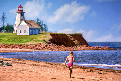Panmure Head - Beach - Pei Poster
