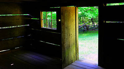 Pano Cabin Poster by David Lee Thompson