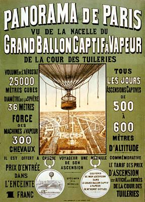 Panorama De Paris Poster