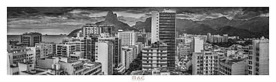 Panorama Leblon - Rio De Janeiro Poster