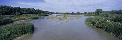 Panorama Of North Platte River, Western Poster by Panoramic Images