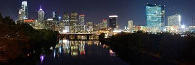 Panoramic Philadelphia Poster
