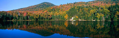 Panoramic View Of Crawford Notch State Poster