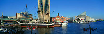 Panoramic View Of The Uss Constitution Poster by Panoramic Images
