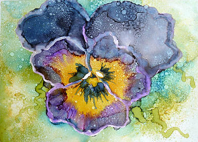 Pansy Poster by P Maure Bausch
