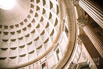 Pantheon Dome Poster by Sonja Quintero