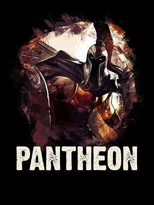 Pantheon - League Of Legends Poster