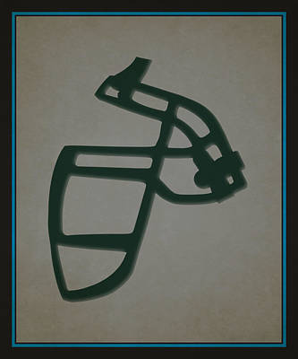 Panthers Face Mask Poster by Joe Hamilton