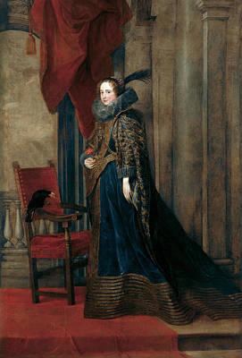 Paolina Adorno Brignole-sale Poster by Anthony van Dyck