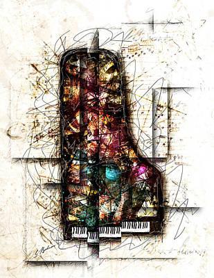 Concerto I Poster by Gary Bodnar