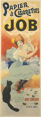 Papier A Cigarettes Job 1894 Poster by Celestial Images