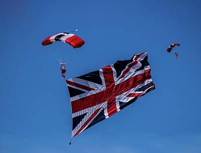 Parachutist Poster by Martin Newman