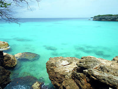 Poster featuring the photograph Paradise Island, Curacao by Kurt Van Wagner