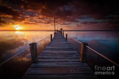 Paradise Sunrise  Poster by Marco Crupi