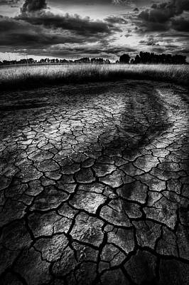 Poster featuring the photograph Parched Prairie by Dan Jurak