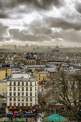 Paris As Seen From The Sacre-coeur Poster