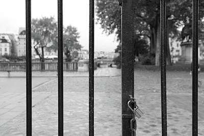Paris Behind Bars Poster