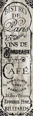 Paris Bistro I Poster