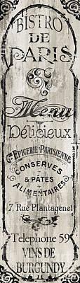 Paris Bistro II Poster