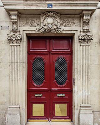 Paris Doors No. 17 - Paris, France Poster by Melanie Alexandra Price