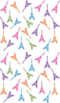 Paris Eiffel Tower Poster