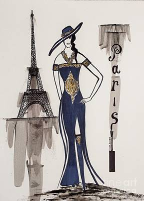 Paris Fashion Poster