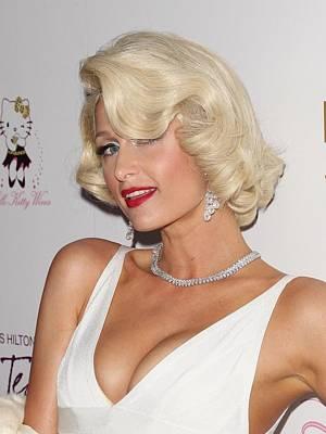 Paris Hilton At Arrivals For Launch Poster