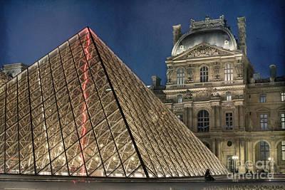 Paris Louvre Poster