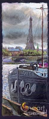 Paris Pont Alexandre IIi Poster by Yuriy  Shevchuk