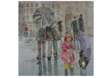 Paris Purrcipitation Poster
