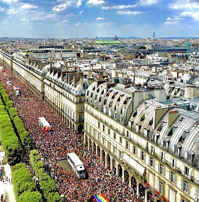 Paris Pride March 2018 Poster
