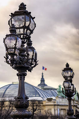 Parisian Skies Poster by Pablo Lopez
