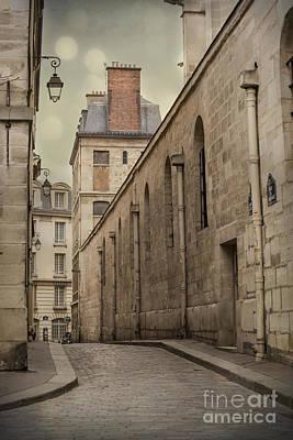 Parisian Street Poster by Juli Scalzi