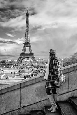 Parisien 2 Poster by Pablo Lopez