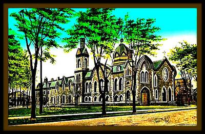 Park Church, Elmira N Y, 1903 Poster by Dwight GOSS