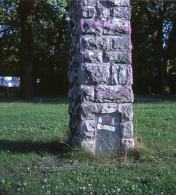 Park Column Poster