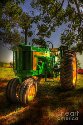 Parked John Deere Poster by Michael Eingle