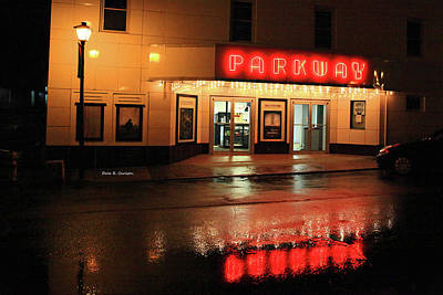 Parkway Night Poster