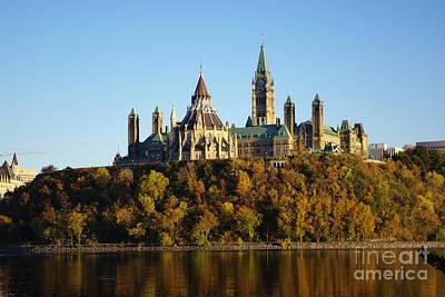 Parliament Hill In Ottawa, Canada Poster