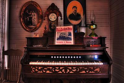 Parlor Organ Poster by Mike Flynn