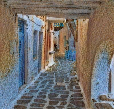 Paros Beauty Island Greece  Poster