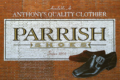 Parrish Shoes, Jumanji Sign Poster by Michael Plotczyk