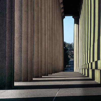Parthenon Shadow Tunnel Poster