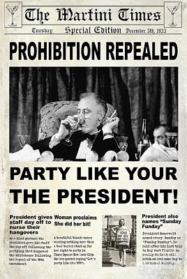 Party Like The President Poster