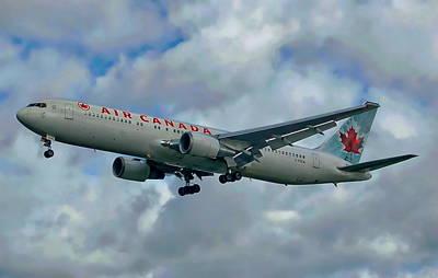Passenger Jet Plane Poster